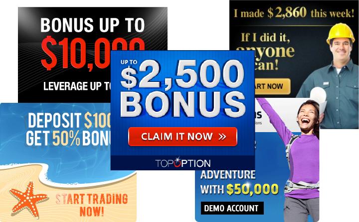 Binary options ads