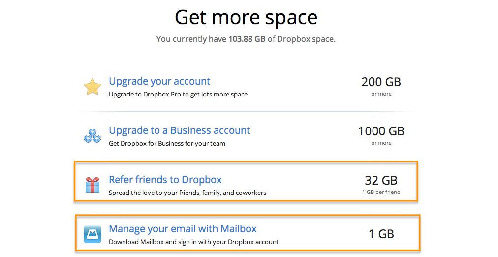 dropbox customer retention