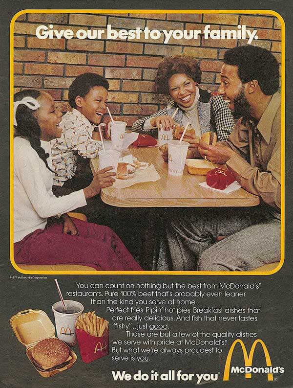 McDonalds Family Ad