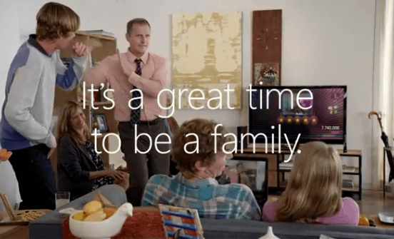 Microsoft Family Ad
