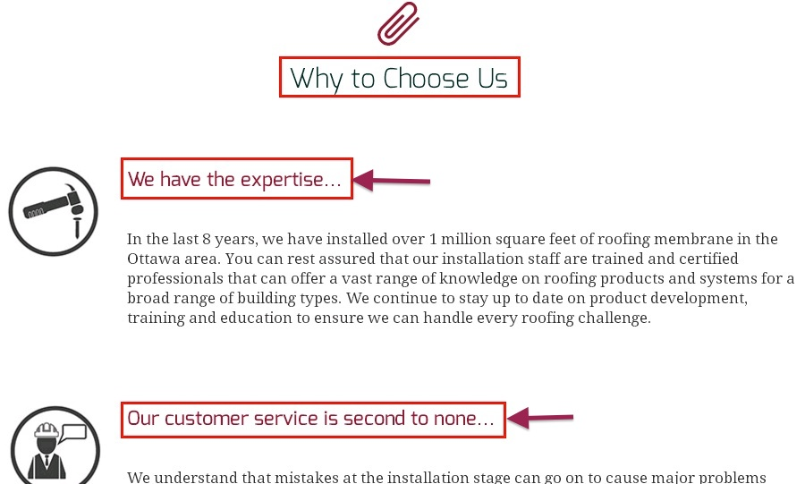 why to choose us