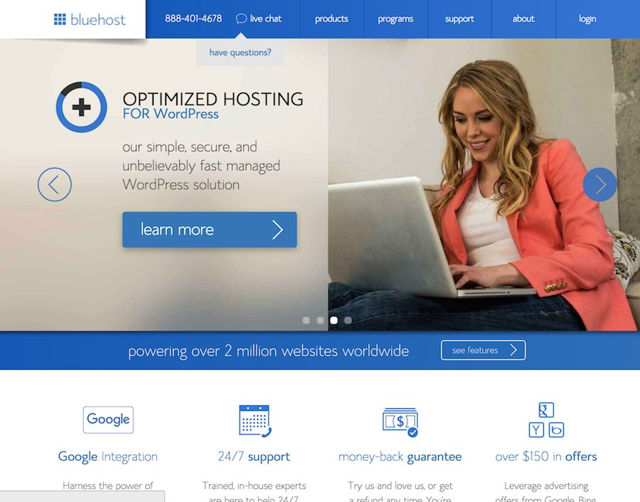 BlueHost - After