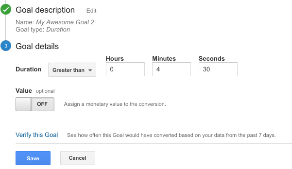 Set Up Goals in Your Google Analytics With These 3 Easy Steps image 6