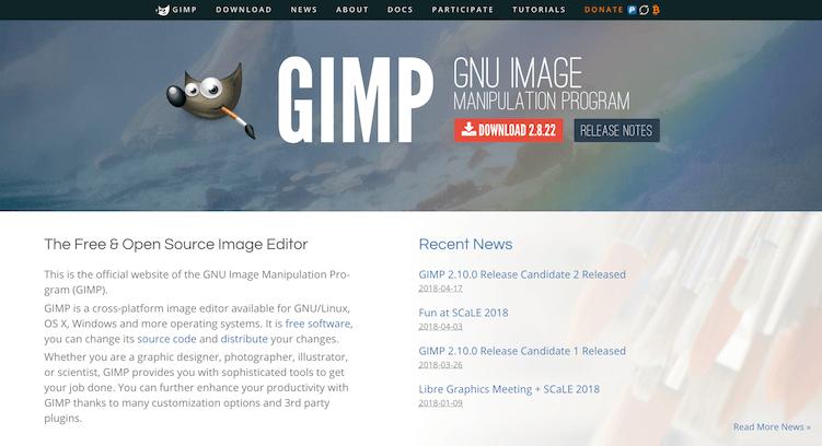 gimp photo editor  free photo editing